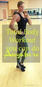 Total Body Workout You can Do Anywhwere