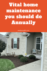 Vital home maintenance tasks you should do annually