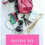 Inside My Gym Bag